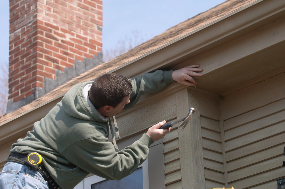 Siding, Soffit and Fascia Repairs | Pink Hammer Home Services