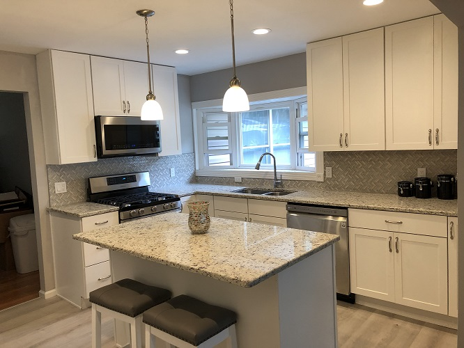 Updated kitchen remodel Rockaway NJ