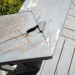 Rotted deck railing repair