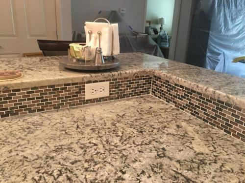 Kitchen counters and backsplash Roxbury